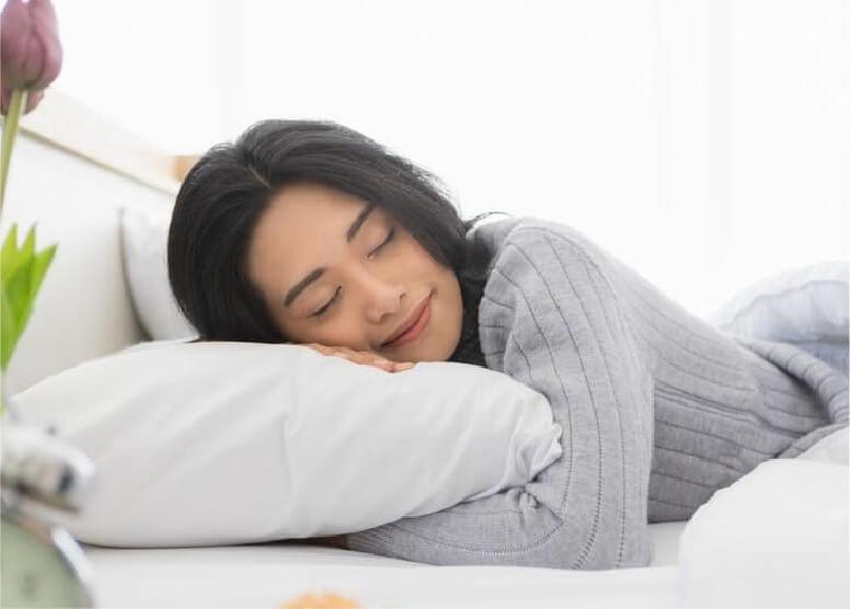 Ngủ sâu và thức dậy sảng khoái